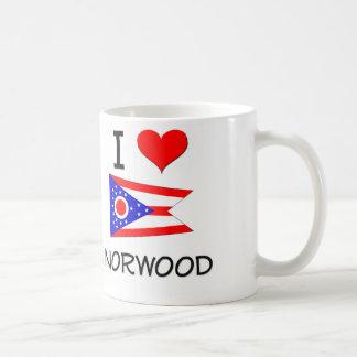 Amo Norwood Ohio Taza Básica Blanca