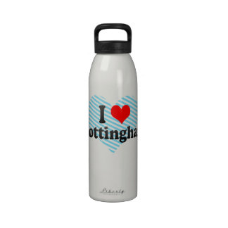 Amo Nottingham Reino Unido Botellas De Beber