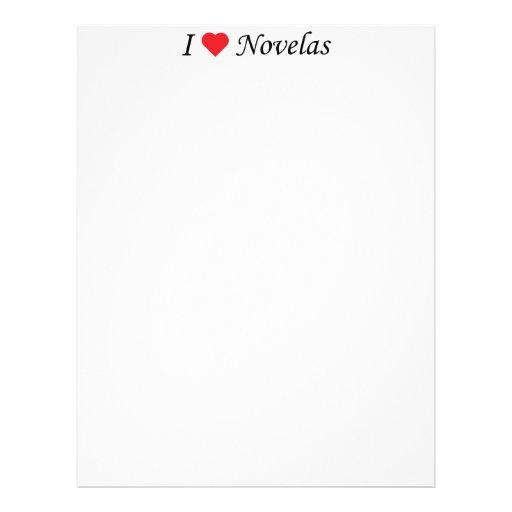 Amo Novelas Membretes Personalizados