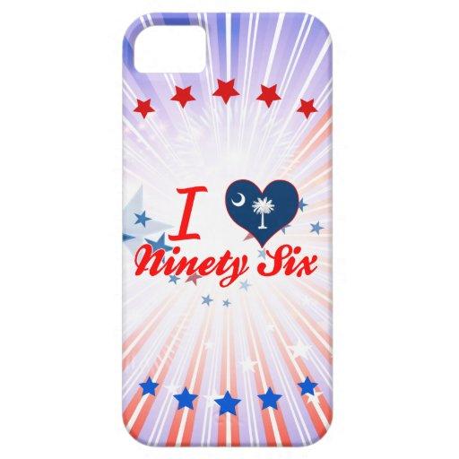 Amo noventa y seis, Carolina del Sur iPhone 5 Fundas