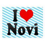 Amo Novi, Estados Unidos Tarjeta Postal