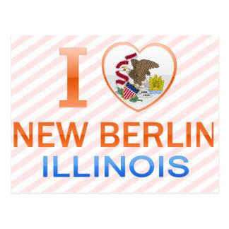 Amo nueva Berlín, IL Tarjetas Postales