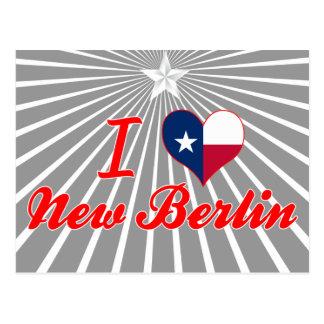 Amo nueva Berlín, Tejas Postales