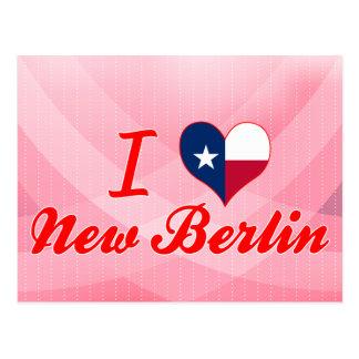 Amo nueva Berlín, Tejas Postal
