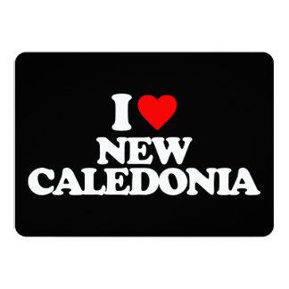 """AMO NUEVA CALEDONIA INVITACIÓN 5"""" X 7"""""""