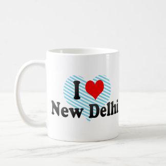 Amo Nueva Deli, la India Tazas De Café