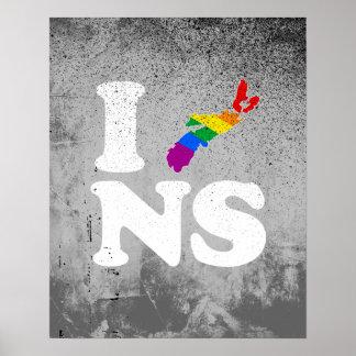 AMO NUEVA ESCOCIA GAY - BLANCO - .PNG IMPRESIONES