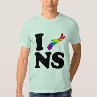AMO NUEVA ESCOCIA GAY - .PNG CAMISAS