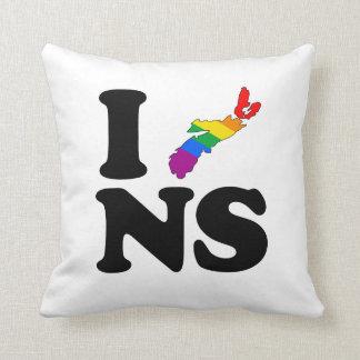 AMO NUEVA ESCOCIA GAY - .PNG COJÍN