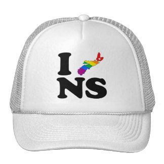 AMO NUEVA ESCOCIA GAY - PNG GORRO DE CAMIONERO