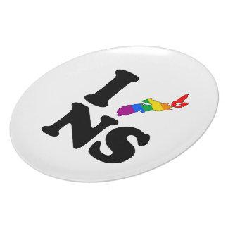 AMO NUEVA ESCOCIA GAY - .PNG PLATOS PARA FIESTAS