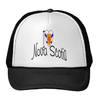 Amo Nueva Escocia Gorras