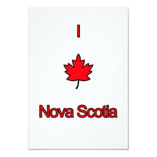 """Amo Nueva Escocia Invitación 3.5"""" X 5"""""""