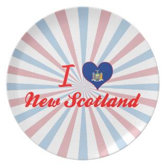 Amo nueva Escocia, Nueva York Platos