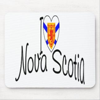 Amo Nueva Escocia Alfombrilla De Ratón