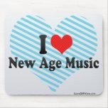 Amo nueva música de la edad alfombrillas de ratón