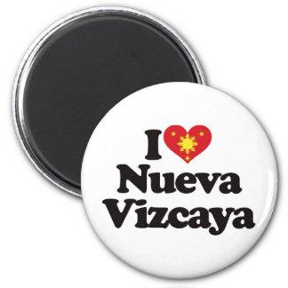 Amo Nueva Vizcaya Imán Redondo 5 Cm