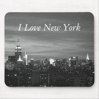 Amo Nueva York Alfombrillas De Ratón