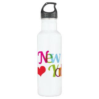 Amo Nueva York Botella De Agua