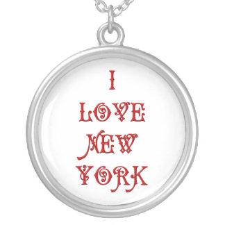 Amo Nueva York Colgante Redondo