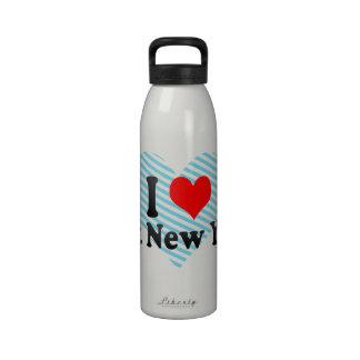 Amo Nueva York del este Estados Unidos Botella De Agua Reutilizable