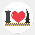 Amo Nueva York Etiquetas