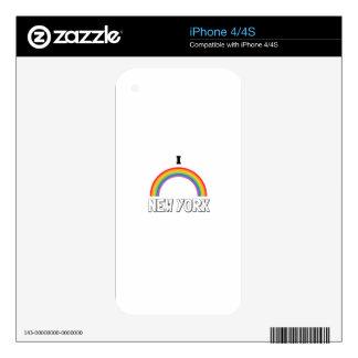 AMO NUEVA YORK SKINS PARA eliPhone 4
