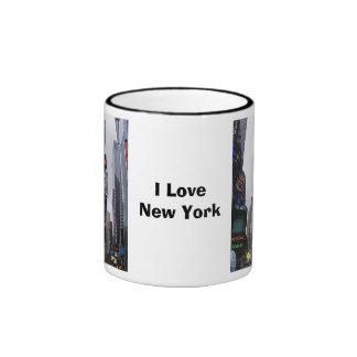 Amo Nueva York Taza A Dos Colores