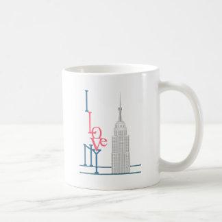 Amo Nueva York Taza De Café