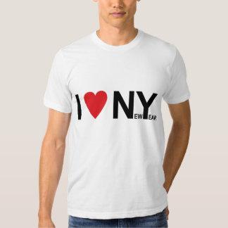 Amo Nueva York, yo amo el Año Nuevo, 2008 Poleras