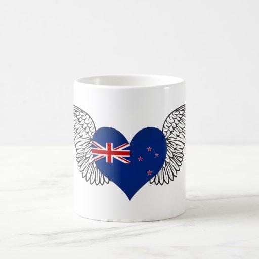 Amo Nueva Zelanda - alas Tazas