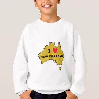 Amo Nueva Zelanda (Australia) Sudadera