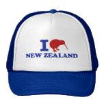 Amo Nueva Zelanda Gorros