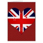 Amo Nueva Zelanda Tarjeton