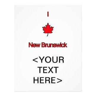 Amo Nuevo Brunswick Tarjetones