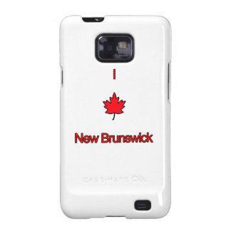 Amo Nuevo Brunswick Galaxy S2 Fundas