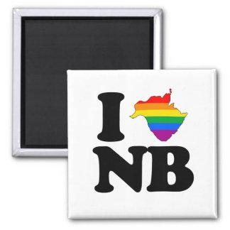 AMO NUEVO BRUNSWICK GAY - PNG IMÁN