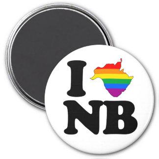 AMO NUEVO BRUNSWICK GAY - PNG IMÁN PARA FRIGORIFICO