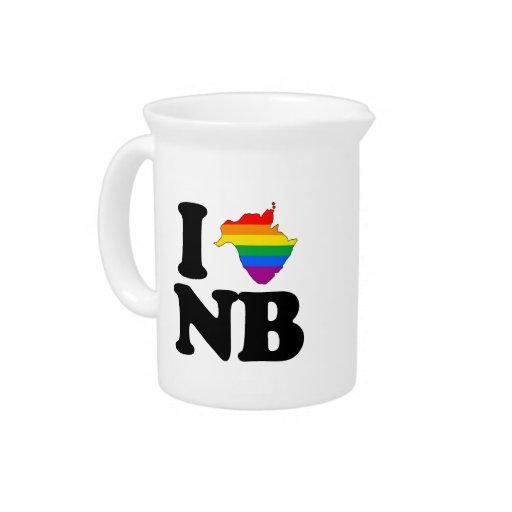 AMO NUEVO BRUNSWICK GAY - .PNG JARRAS DE BEBER