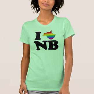 AMO NUEVO BRUNSWICK GAY - .PNG T SHIRT