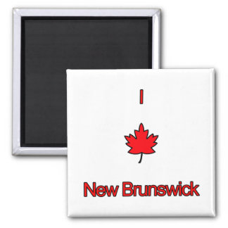 Amo Nuevo Brunswick Imanes De Nevera