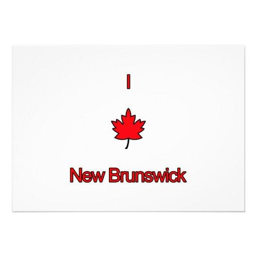 Amo Nuevo Brunswick Comunicado Personal