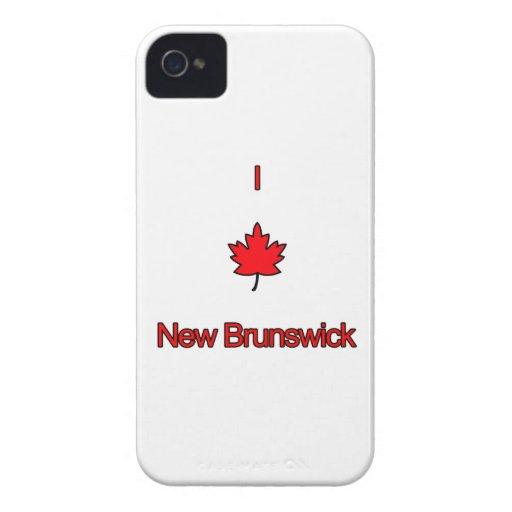 Amo Nuevo Brunswick iPhone 4 Cárcasa