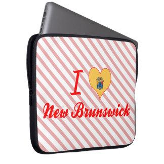 Amo Nuevo Brunswick, New Jersey Fundas Portátiles