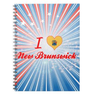 Amo Nuevo Brunswick, New Jersey Libreta Espiral