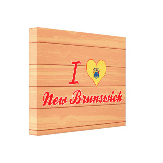 Amo Nuevo Brunswick, New Jersey Lona Estirada Galerías