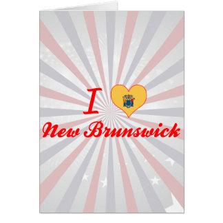 Amo Nuevo Brunswick, New Jersey Tarjeta