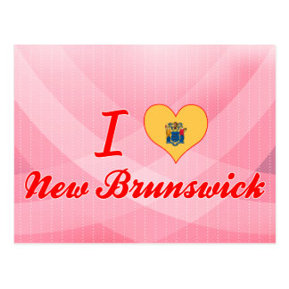 Amo Nuevo Brunswick, New Jersey Tarjetas Postales