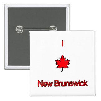 Amo Nuevo Brunswick Pin