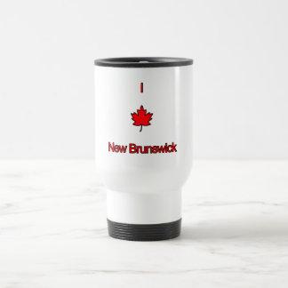 Amo Nuevo Brunswick Tazas De Café